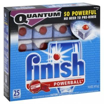 FINISH Quantum Powerball Auto Dishwasher Detergent Capsules