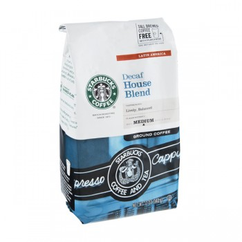 Starbucks House Blend Coffee Decaffeinated (Ground)