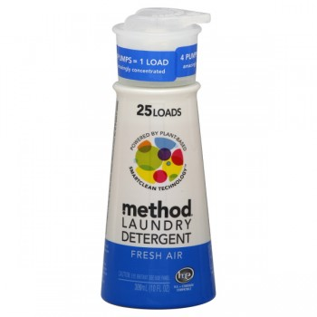 Method Concentrate Liquid Laundry Detergent HE Fresh Air Pump