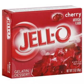 Jell-O Gelatin Dessert Cherry