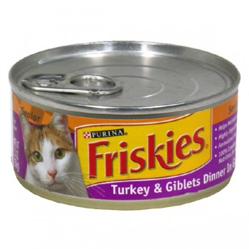 Friskies Senior Wet Cat Food Turkey & Giblets Dinner in Gravy