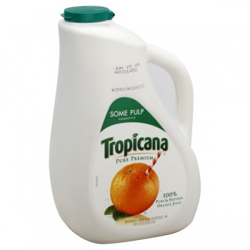 Tropicana Pure Premium 100% Pure Orange Juice Some Pulp