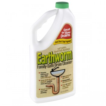 Earthworm Drain Cleaner Family Safe