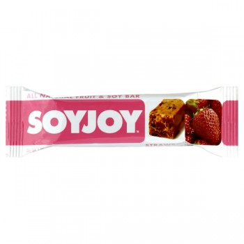 SOYJOY All Natural Fruit & Soy Snack Bar Strawberry