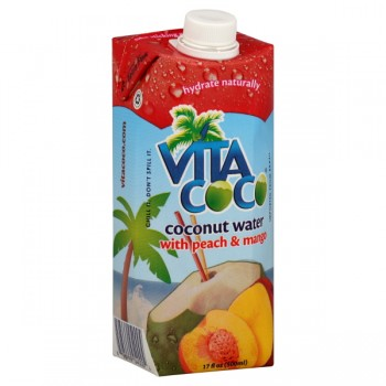 Vita Coco Coconut Water with Peach & Mango All Natural