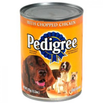 Pedigree Traditional Ground Dinner Wet Dog Food Chopped Chicken