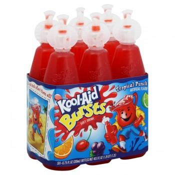 Kool-Aid Bursts Tropical Punch - 6 pk