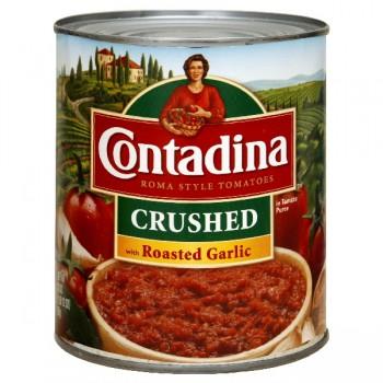 Contadina Recipe Ready Tomatoes Crushed with Roasted Garlic