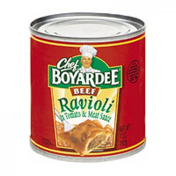 Chef Boyardee Ravioli Beef EZ Open
