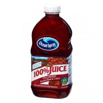 Ocean Spray 100% Cranberry Juice Blend No Sugar Added