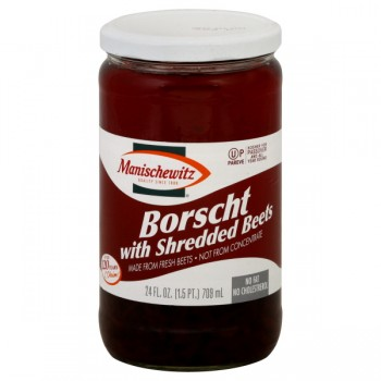 Manischewitz Borscht with Shredded Beets