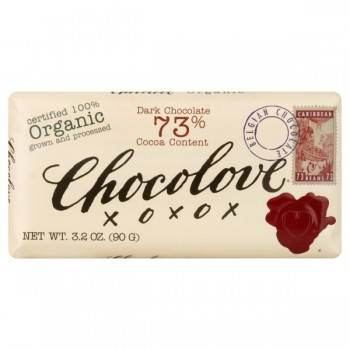 Chocolove Chocolate Bar Dark with 73% Cocoa Content Organic