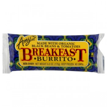Amy's Breakfast Burrito Black Bean Organic