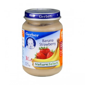 Gerber 3rd Foods Nature Select Banana Strawberry