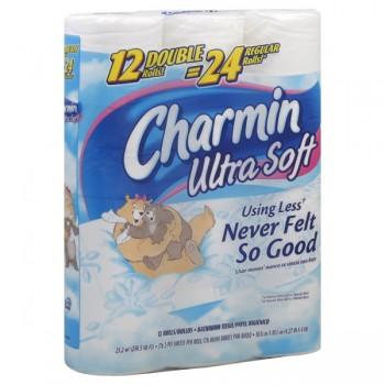 Charmin Ultra Soft Bath Tissue Big Roll 2-Ply Unscented