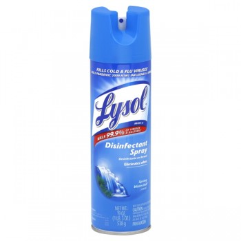 Lysol Disinfectant Spray Spring Waterfall Scent Aerosol