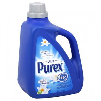 Purex 2X Ultra Concentrated Liquid Laundry Detergent HE After The Rain