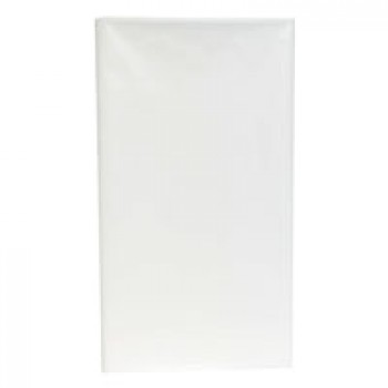 UltraWare Tablecover Plastic White 54 X 108 Inch