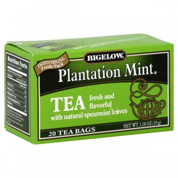 Bigelow Plantation Mint Tea Bags