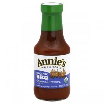 Annie's Naturals BBQ Sauce Original Recipe Organic