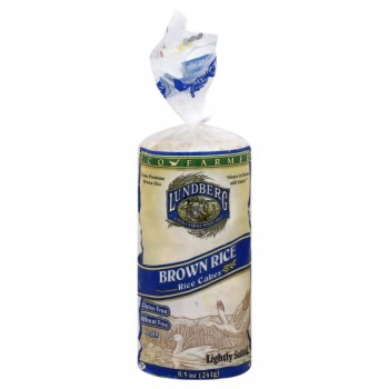 Lundberg Rice Cakes Brown Low Salt