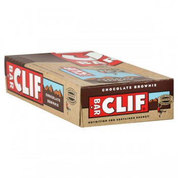 Clif Energy Bars Chocolate Brownie Full Case - 12 ct