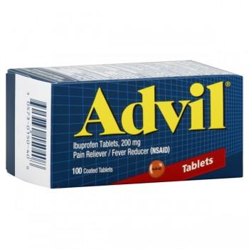 Advil Ibuprofen 200 mg Coated Tablets