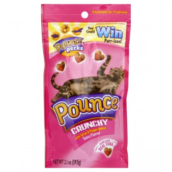 Pounce Tartar & Plaque Control Cat Treats Tuna Flavor