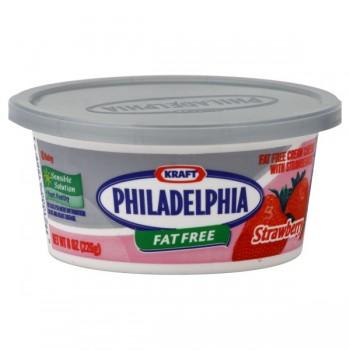 Kraft Philadelphia Cream Cheese Spread Strawberry Fat Free