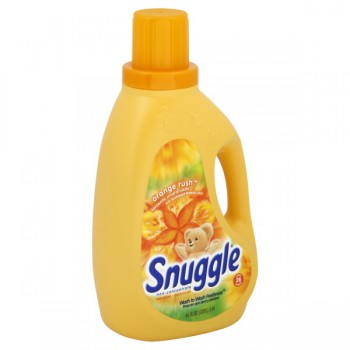 Snuggle Ultra Liquid Fabric Softener Orange Rush