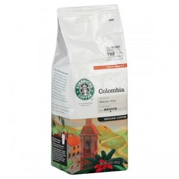 Starbucks Colombia Latin America Balanced, Nutty Medium Coffee (Ground)