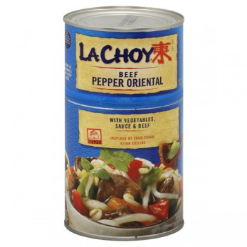 La Choy Beef Pepper Oriental with Vegetables, Sauce & Beef