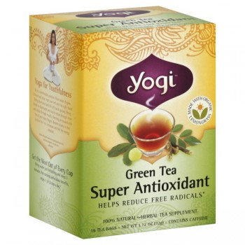 Yogi Super Antioxidant Green Tea Bags
