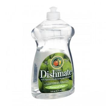 Earth Friendly Ultra Dishmate Dish Liquid Natural Pear