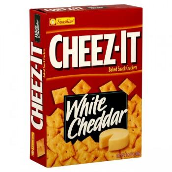 Sunshine Cheez-It Crackers White Cheddar