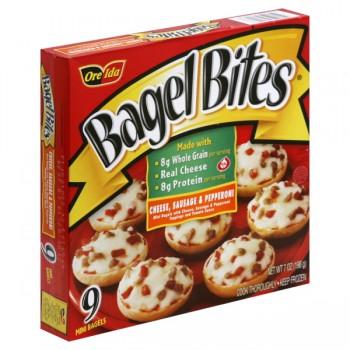 Bagel Bites Cheese, Sausage & Pepperoni - 9 ct