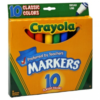 Crayola Markers Classic Colors Broad Line