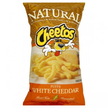 Cheetos Natural Puffs White Cheddar