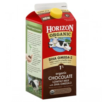 Horizon Organic Milk Chocolate Low Fat with DHA Omega-3