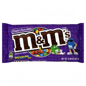M & M's Candies Dark Chocolate Plain