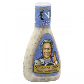 Newman's Own Salad Dressing Poppy Seed All Natural