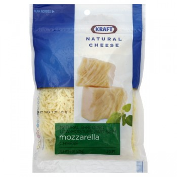 Kraft Cheese Mozzarella Low Moisture Part-Skim Shredded