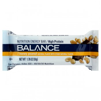 Balance Complete Nutritional Food Bar Honey Peanut