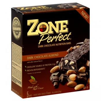 ZonePerfect Nutrition Bars Dark Chocolate Almond - 5 ct