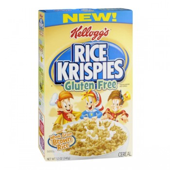 Kellogg's Rice Krispies Cereal with Brown Rice Gluten Free