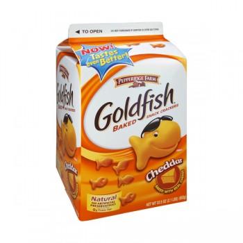 Pepperidge Farm Goldfish Crackers Cheddar Cheese
