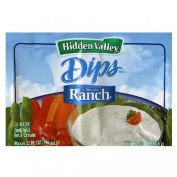 Hidden Valley Dips Mix Original Ranch - 2 ct