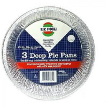 Hefty EZ Foil Pie Pans 9 X 1 Inch