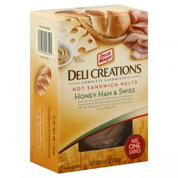 Oscar Mayer Deli Creations Hot Sandwich Melts Honey Ham & Swiss
