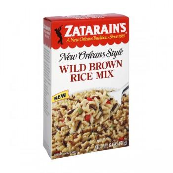 Zatarain's New Orleans Style Rice Mix Wild Brown Rice